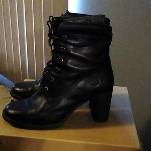 Ladies Timberland heeled boots